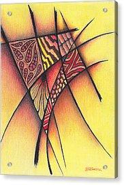 Life On The Grid Acrylic Print by Buck Buchheister