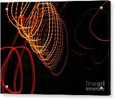 Light Colors Acrylic Print by Odon Czintos