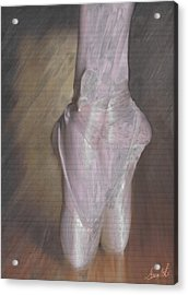 Light On Her Feet Acrylic Print by Lance  Kelly