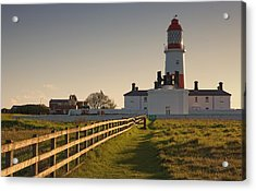 Lighthouse South Shields, Tyne And Acrylic Print by John Short