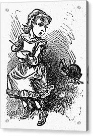 Little Miss Muffet Acrylic Print by Granger