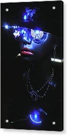 Madame Butterfly Acrylic Print by Steve Barnard