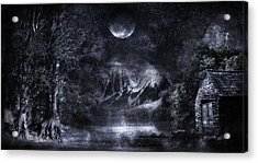 Magical Night Acrylic Print by Svetlana Sewell