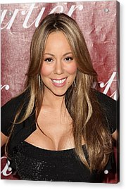 Mariah Carey At Arrivals For 21st Acrylic Print by Everett