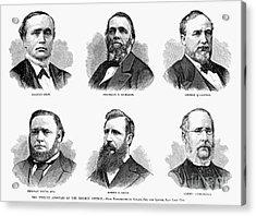Mormon Apostles, 1877 Acrylic Print by Granger
