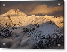 Mount Rolleston At Dawn Arthurs Pass Np Acrylic Print by Colin Monteath