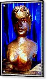 My Model Acrylic Print by Anand Swaroop Manchiraju