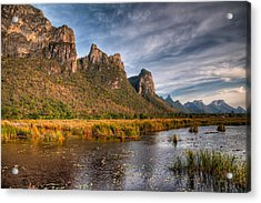 National Park Acrylic Print by Adrian Evans