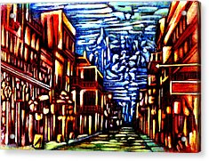 New Orleans Acrylic Print by Giuliano Cavallo
