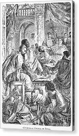 Nicaea Council, 325 A.d Acrylic Print by Granger