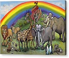 Noah's Ark Acrylic Print by Kevin Middleton