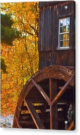 Old Mill Acrylic Print by Joann Vitali
