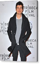 Orlando Bloom At Arrivals For The Good Acrylic Print by Everett