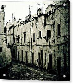 Ostuni - Apulia Acrylic Print by Joana Kruse