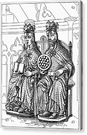 Otto I (912-973) Acrylic Print by Granger