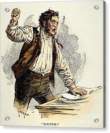 Owen Lovejoy (1811-1864) Acrylic Print by Granger