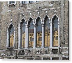 Palace. Venice Acrylic Print by Bernard Jaubert