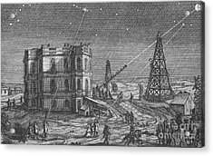Paris Observatory, 17th Century Acrylic Print by Science Source