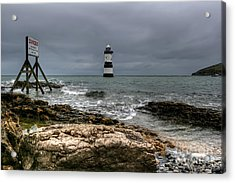 Penmon Point Acrylic Print by Adrian Evans