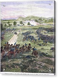 Picketts Charge, 1863 Acrylic Print by Granger