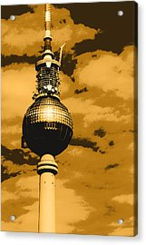 Pop Art Berlin Acrylic Print by Falko Follert