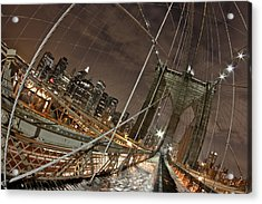 Power Of Perspective Acrylic Print by Joshua Ball