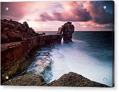 Pulpit Rock Acrylic Print by Nina Papiorek