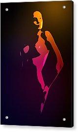 Pure Female Acrylic Print by Stefan Kuhn