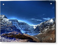 Rocky Mountains Acrylic Print by Dan S