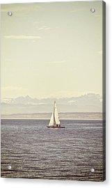 Sailing Boat Acrylic Print by Joana Kruse