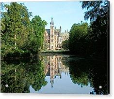 Schloss Loppem Loppem Belgium Acrylic Print by Joseph Hendrix