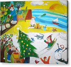 Seasons Acrylic Print by Ward Smith