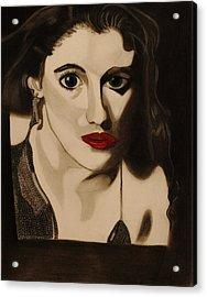 Self Portrait Acrylic Print by Teri Schuster