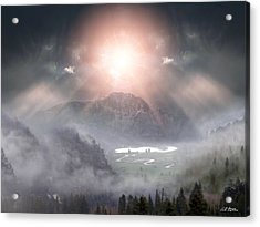 Silent Night Acrylic Print by Bill Stephens