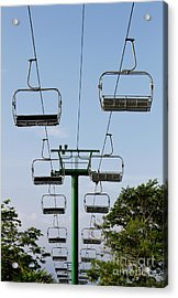 Sky Ride Acrylic Print by Blink Images