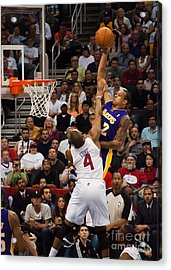 Slam Dunk Acrylic Print by Eddie Yerkish