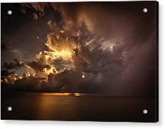 Sliver Sunrise II Acrylic Print by Mabry Campbell