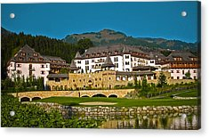 Spa Resort A-rosa - Kitzbuehel Acrylic Print by Juergen Weiss