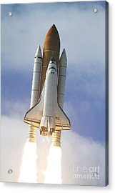 Space Shuttle Atlantis Lifts Acrylic Print by Stocktrek Images