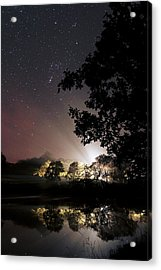 Starry Night Acrylic Print by Laurent Laveder