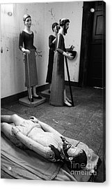 Stripped Saints Acrylic Print by Gaspar Avila