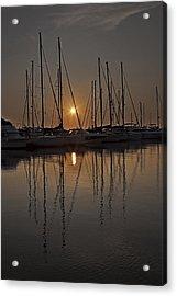Sunset Acrylic Print by Joana Kruse