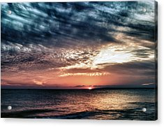 Sunset Acrylic Print by Stelios Kleanthous