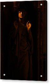 Supplication Acrylic Print by Lisa Knechtel