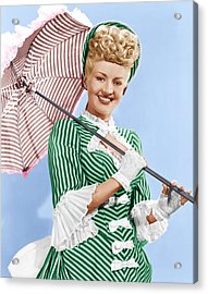 Sweet Rosie Ogrady, Betty Grable, 1943 Acrylic Print by Everett
