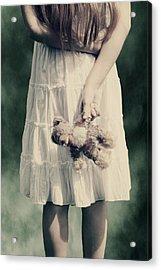 Teddy Bear Acrylic Print by Joana Kruse