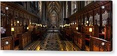 The Altar Acrylic Print by Adrian Evans