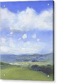 The Distance Acrylic Print by Alan Daysh