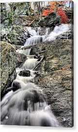 The Falls Acrylic Print by JC Findley