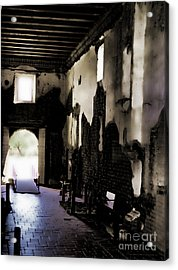 The Ghostly Nave Acrylic Print by Donna Greene